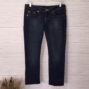 True Religion Kate Cropped Jeans - 29